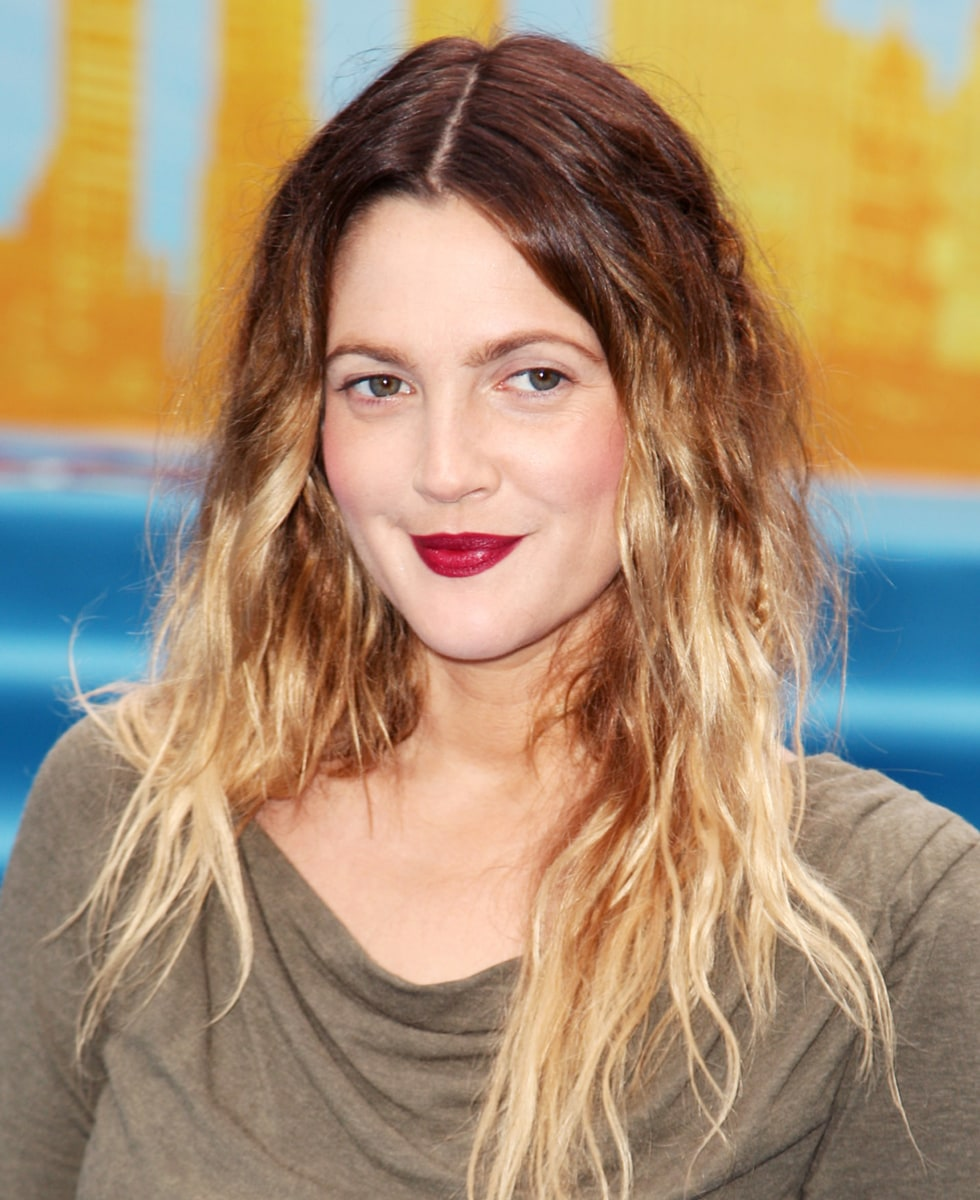 Drew Barrymore's hair evolution: From 'E.T.' to big-shot ...