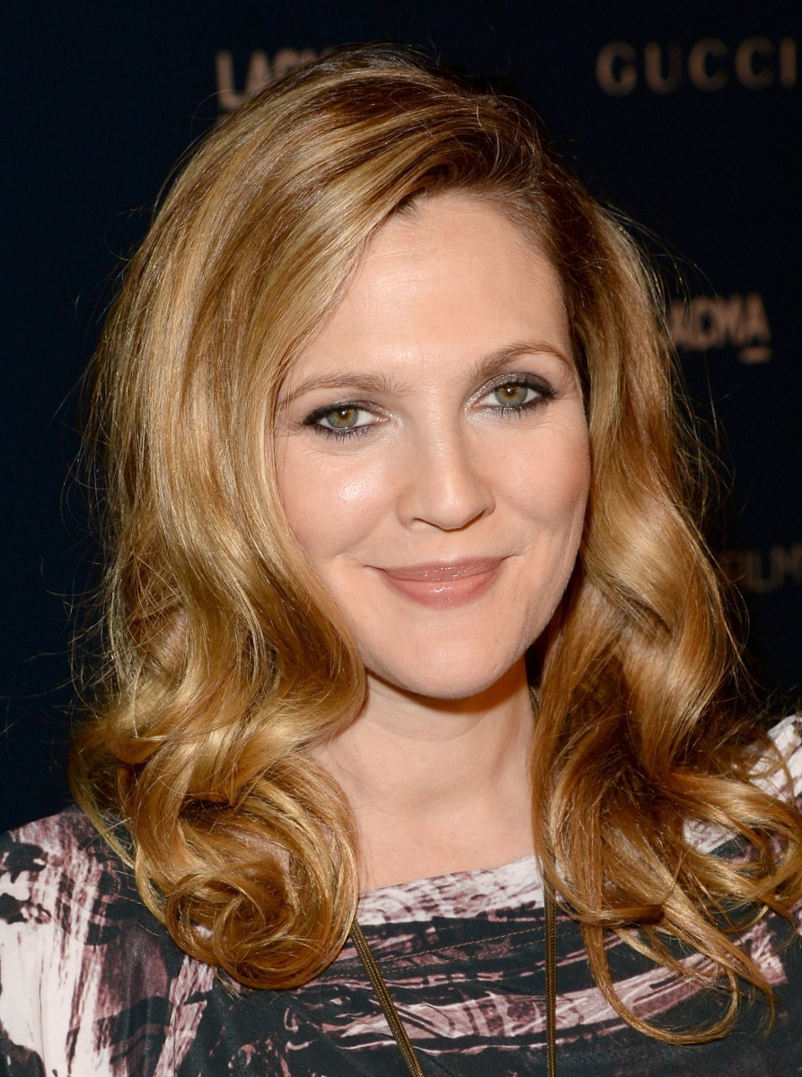 Drew Barrymore's hair evolution: From 'E.T.' to big-shot ... Drew Barrymore