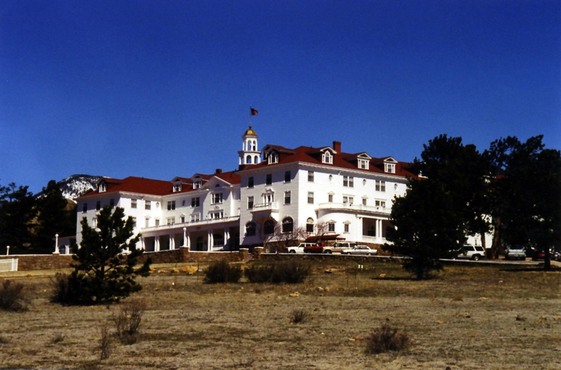 Estes Park Hotel Ghost Picture