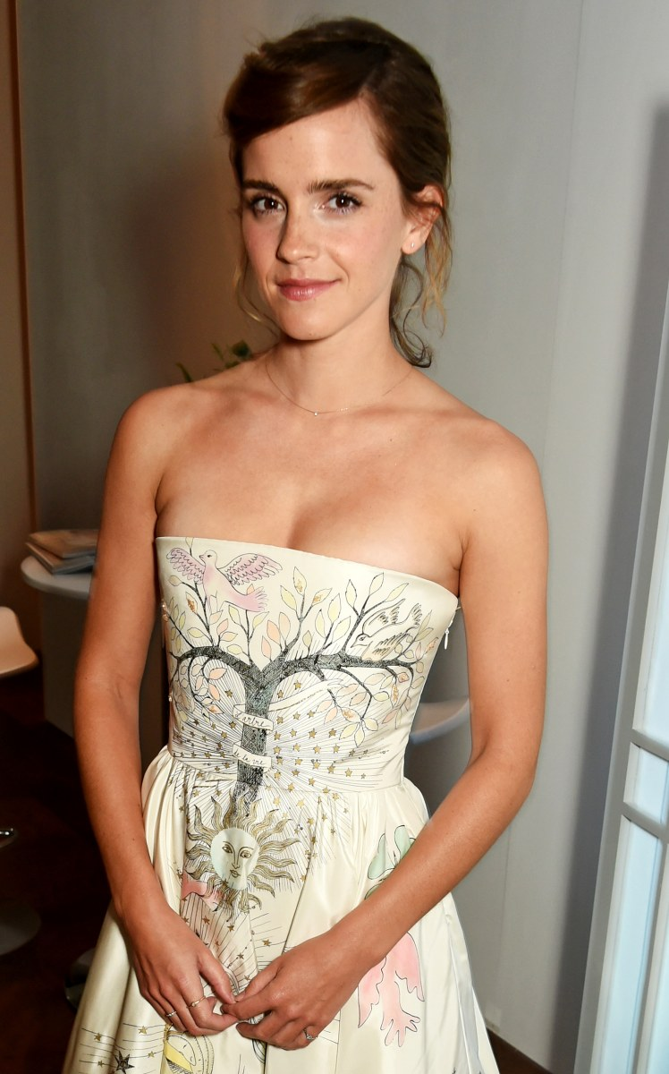 Emma Watson Reacts To Dress She Wore To Harry Potter