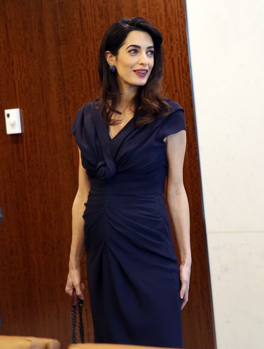 Amal Clooney's maternity fashion — see her best looks ...