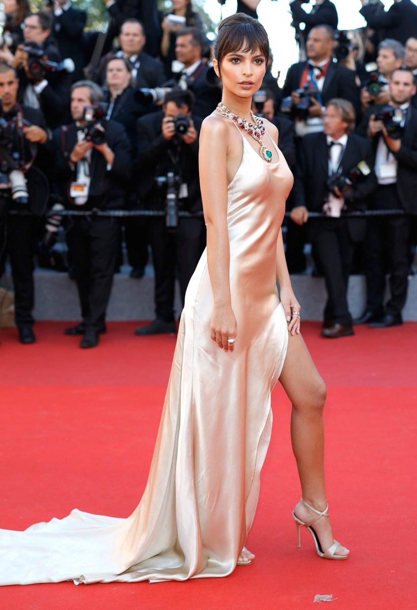 Celebrity oops on red carpet