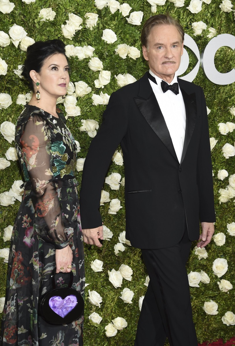 See the best looks from the 2017 tony awards red carpet for Phoebe cates and kevin kline wedding photos