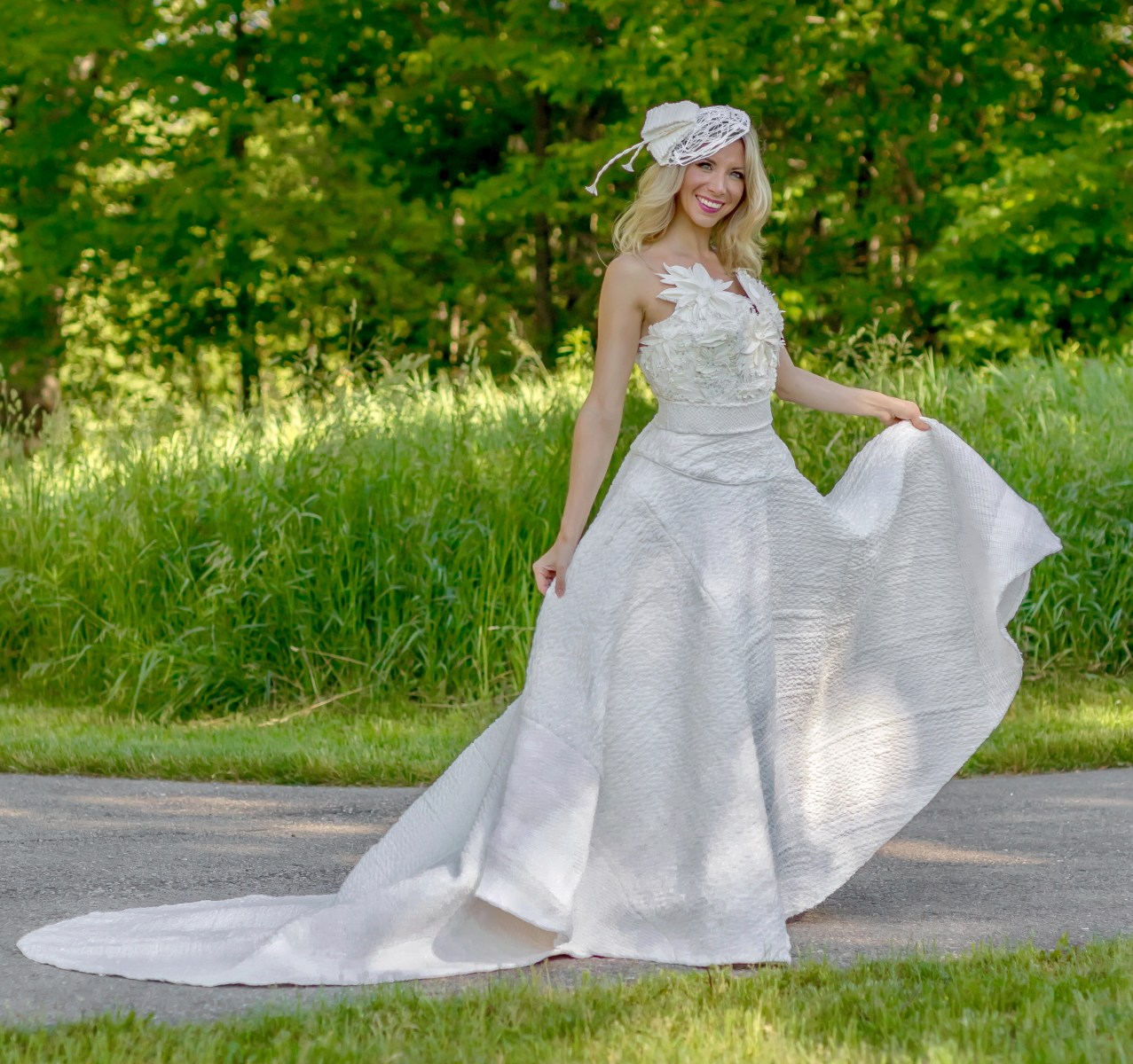 10 Toilet Paper Wedding Dress Designers Competition