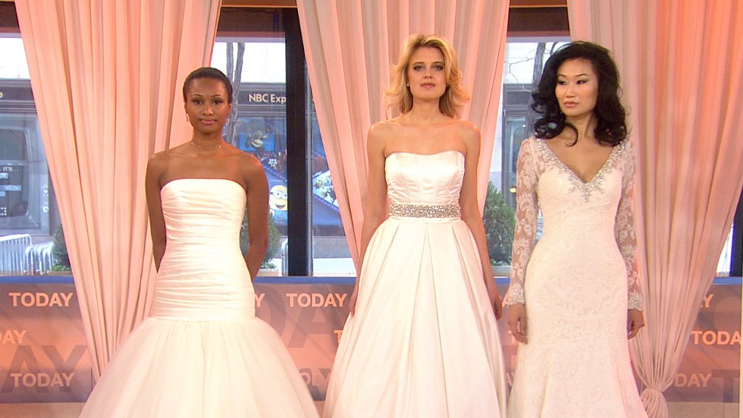Wedding dresses inspired by Carrie Underwood, J.Lo. - TODAY.com