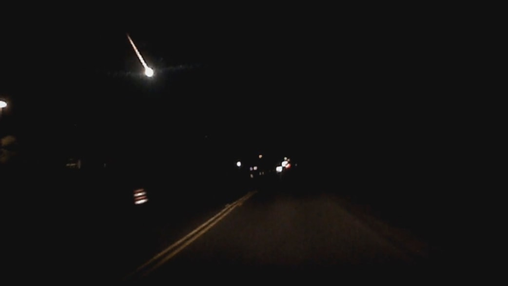 Nice Caught On Camera: Fireball Lights Up Texas Sky