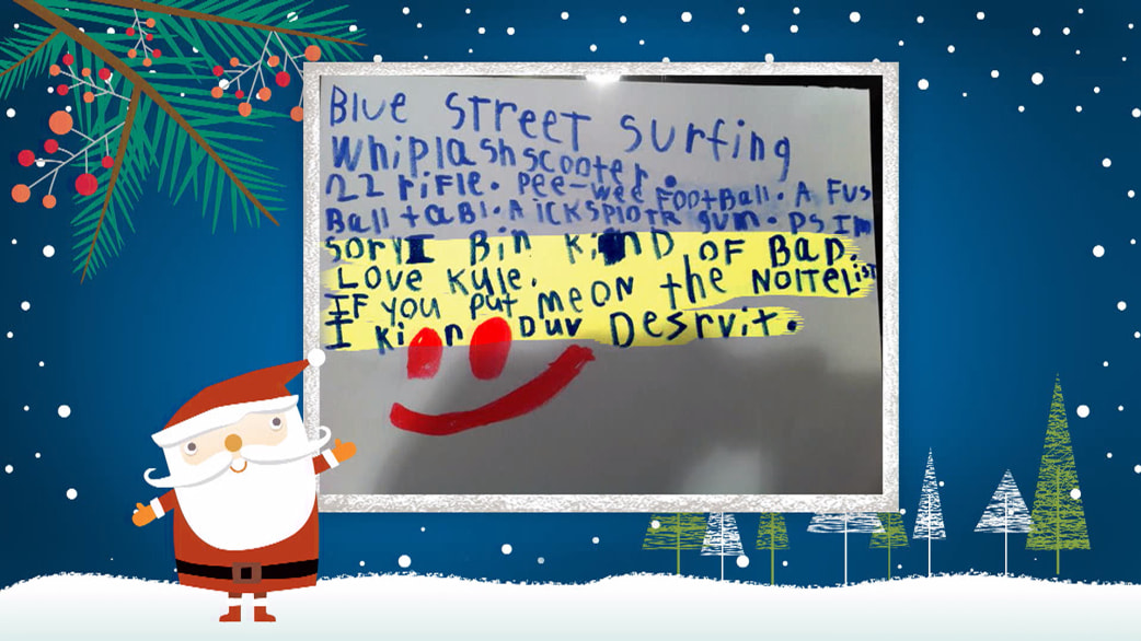 Viewers send in adorable letters to santa today viewers send in adorable letters to santa m4hsunfo