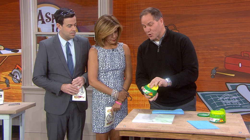 Car wax: The secret to making marble countertops shine