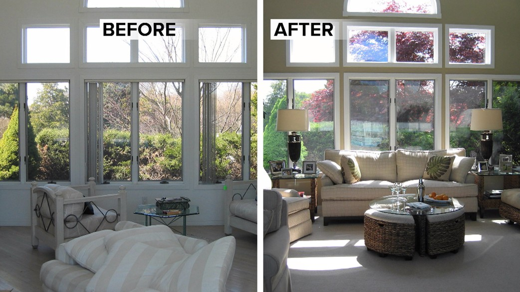 Quick home d cor fixes to make dramatic changes for Living room today