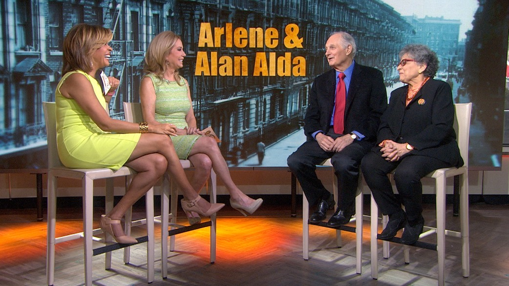 Alan Arlene Alda A Rum Cake Date Started Our Love Today Com