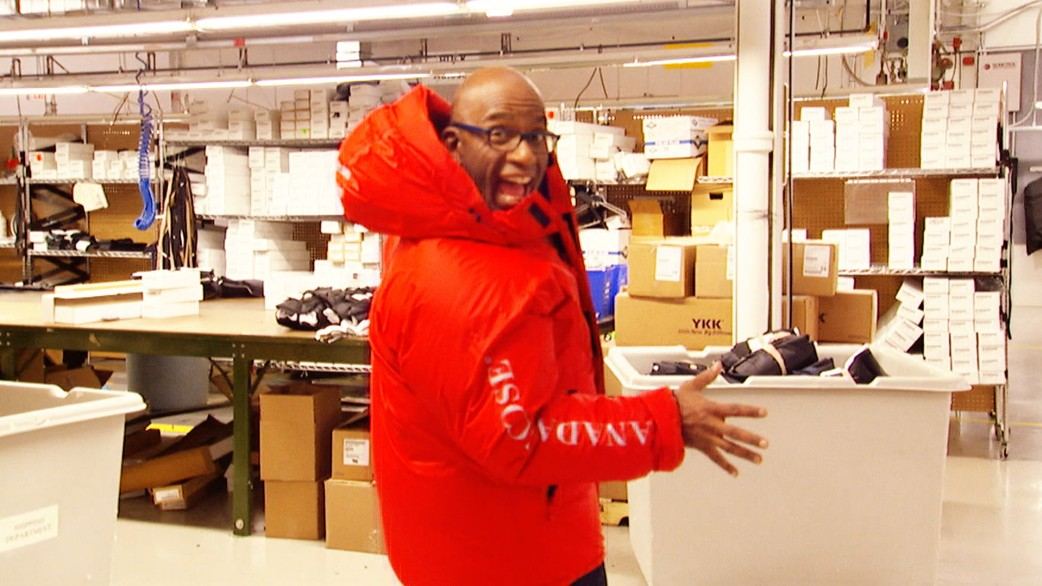 Canada Goose coats replica fake - Al Roker goes north to Canada Goose territory - TODAY.com