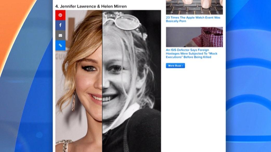 Do Jennifer Lawrence and Helen Young Helen Mirren Jennifer Lawrence