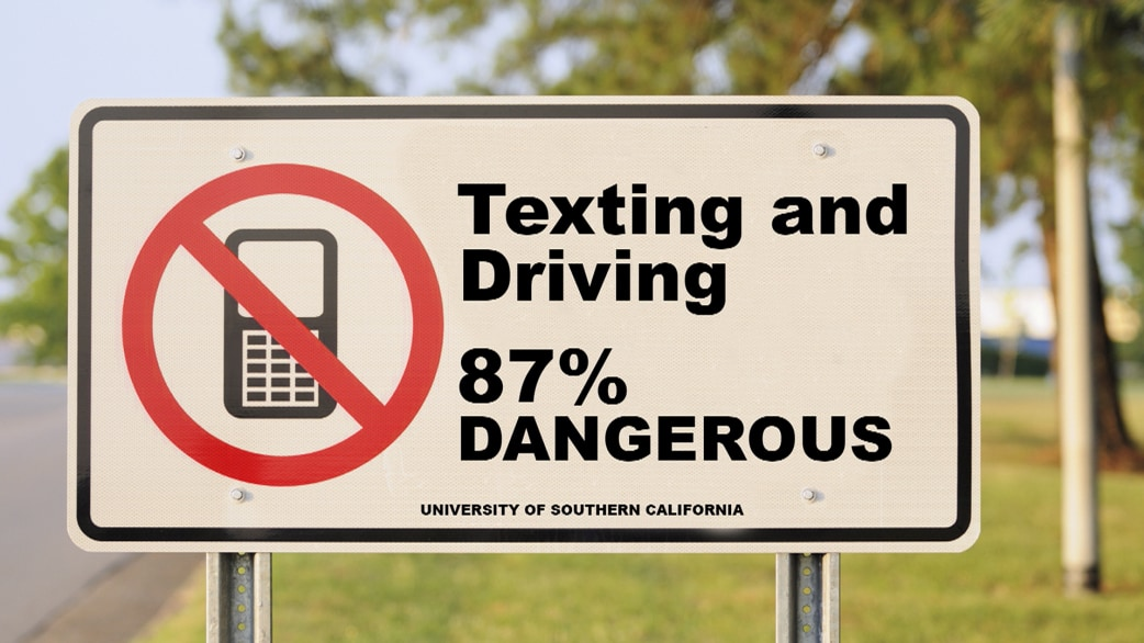 texting and driving is dangerous Texting & driving is illegal  with the rise of smart phones and social media, more and more people—especially millennials—prefer to communicate via text a majority of us states have passed laws to keep up with the corresponding increase in texting and driving.