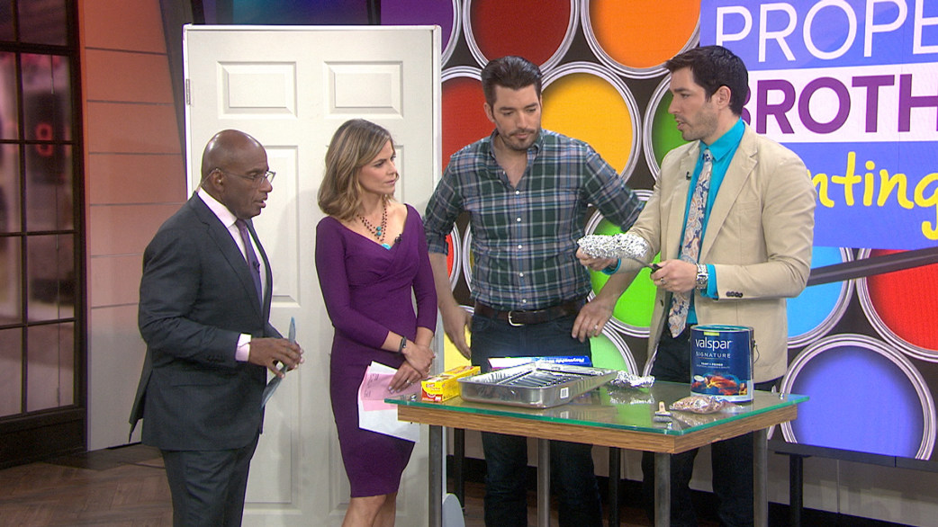 Property Brothers Background Property Brothers Painting