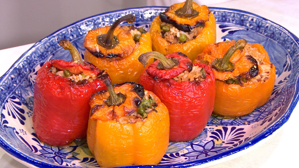 Roasted pepper recipe: 3 ways to make delicious stuffed peppers ...