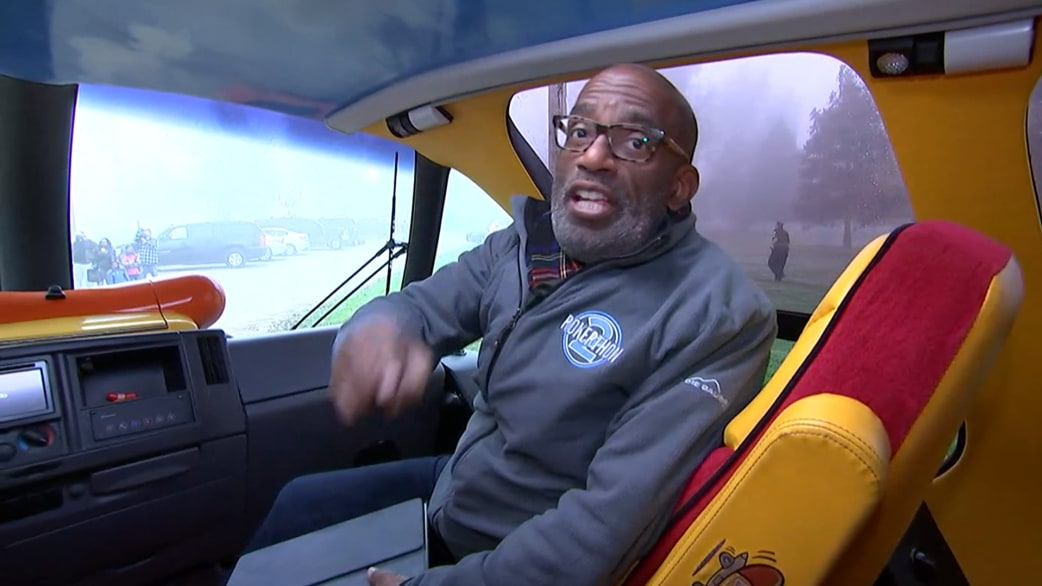 photo of Al Roker  - car