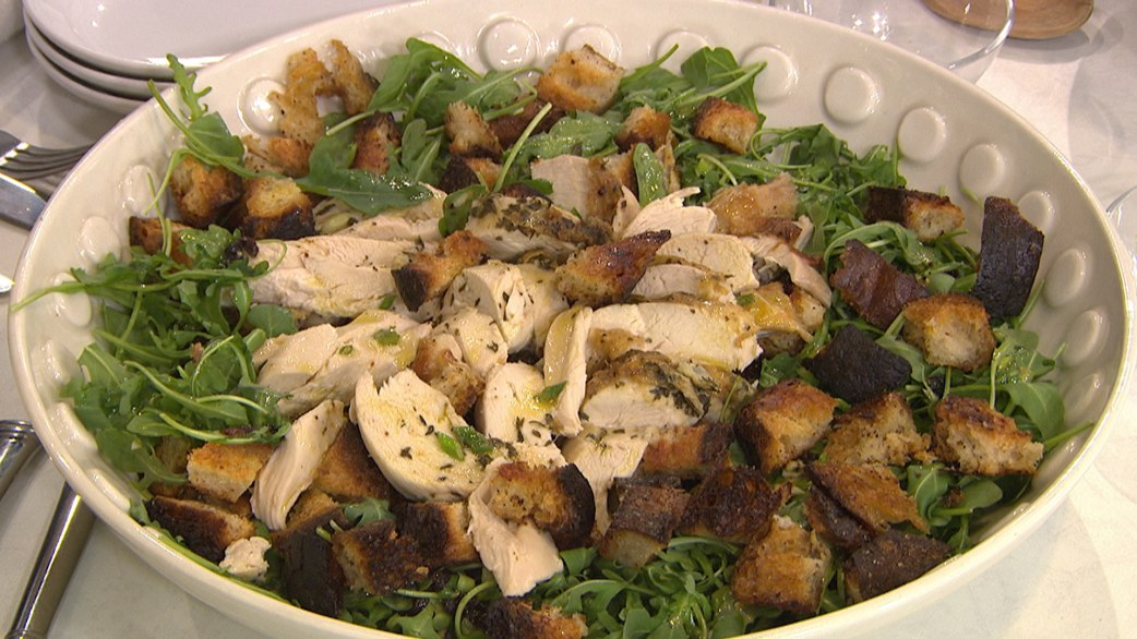Make ina garten s no brainer roast chicken and arugula Ina garten chicken casserole recipes