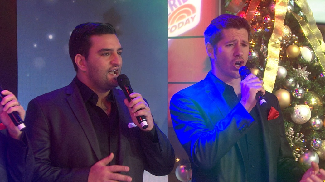 Straight No Chaser performs classic Christmas songs on TODAY ...