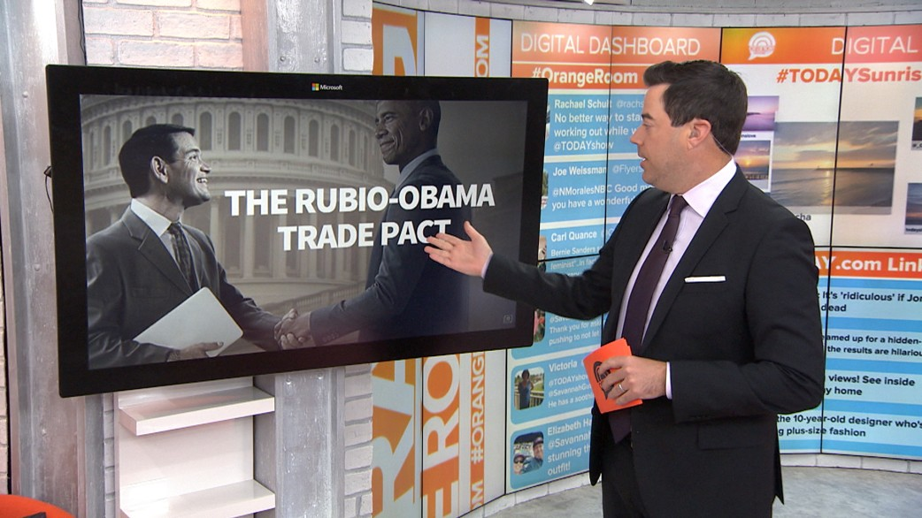 Ted Cruz campaign\'s awkward Photoshop of Marco Rubio goes viral ...