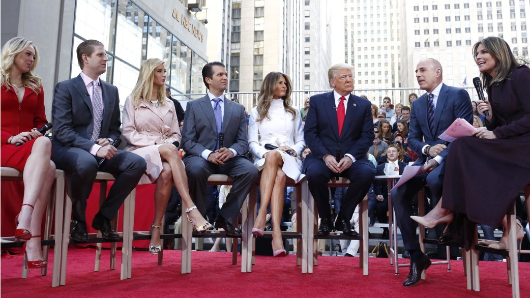 Donald Trump S Family On His Instincts Empathy And Habit They Wish He D Stop Today