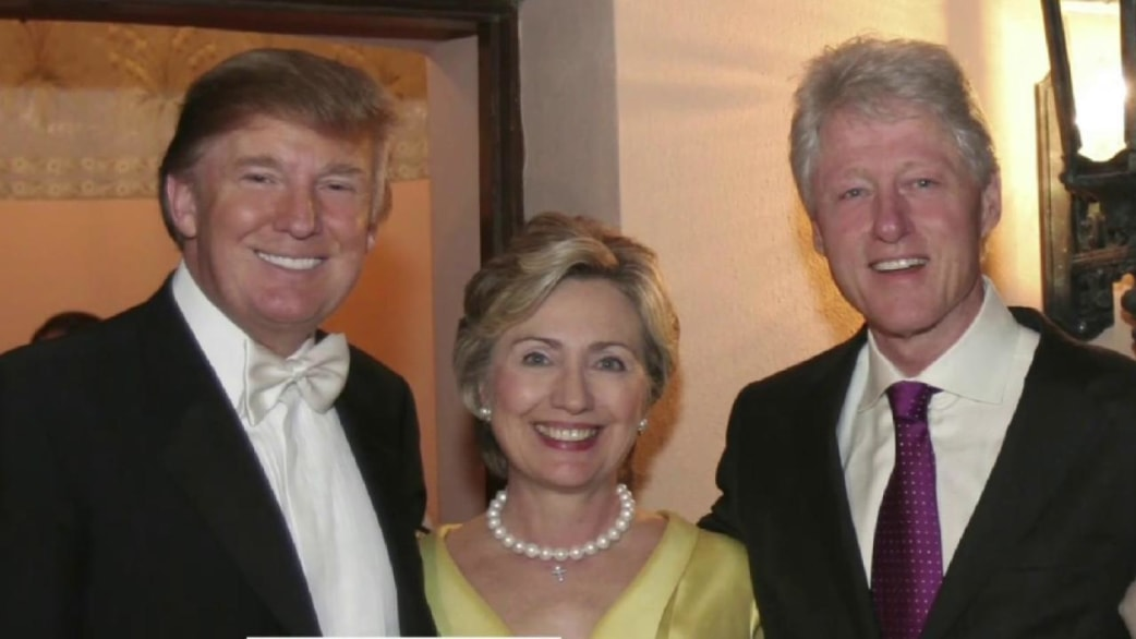 How Donald Trump And The Clintons Went From Friends To