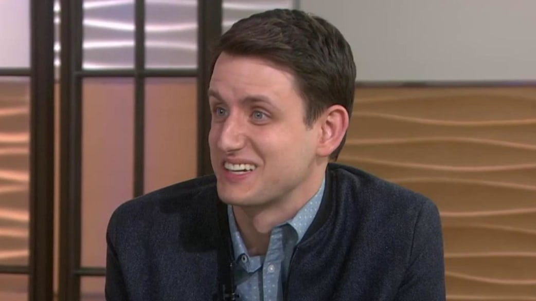 zach woods shirtless
