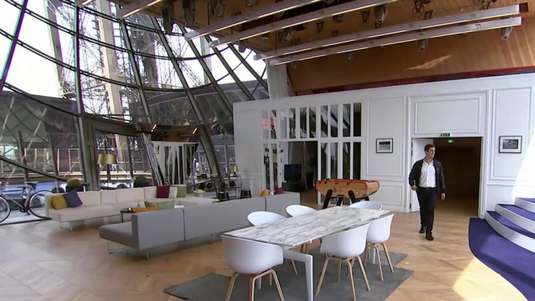 Visit The Luxury Apartment Hidden Inside The Eiffel Tower Today Com