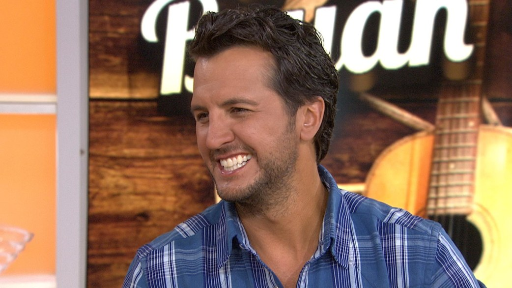 luke bryan on touring with his family �we�re all blessed