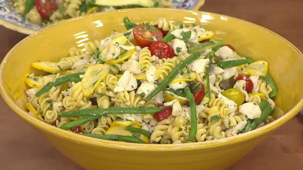 Pasta salads for summer ryan scott makes them simple Ina garten summer pasta