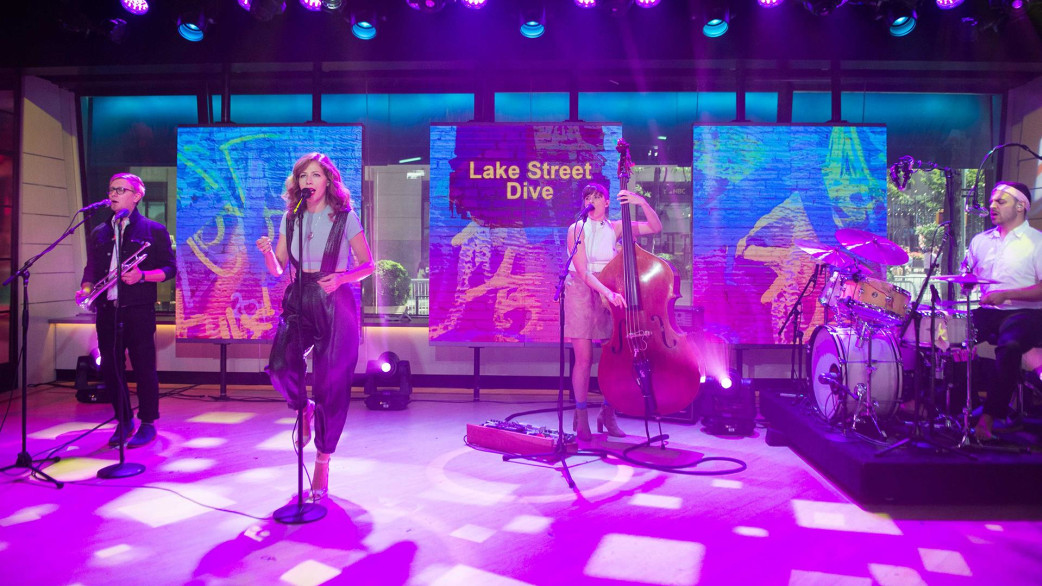 Lake street dive performs mistakes live on today - Lake street dive mistakes ...