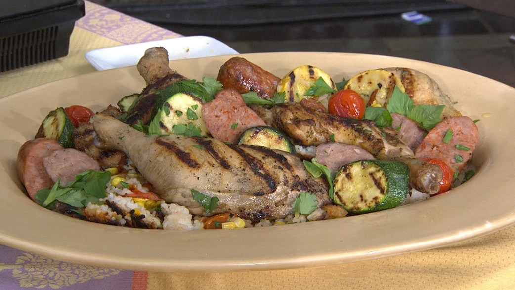 ... and veggie paella try katie lee s simple summer dish as summer wraps