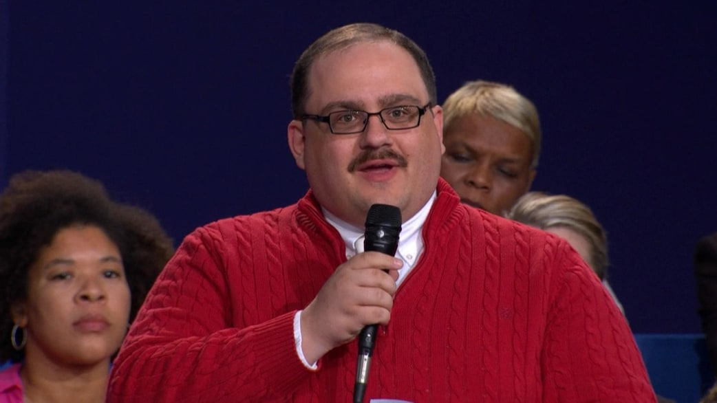 Man in the red sweater, Ken Bone, dubbed 'winner' of second ...