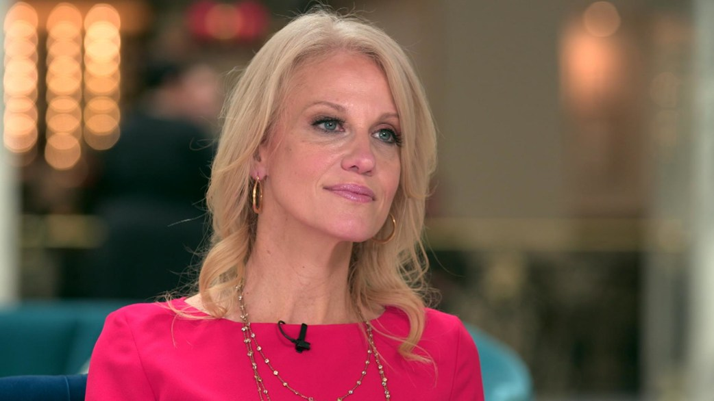 Image result for KELLYANNE CONWAY today