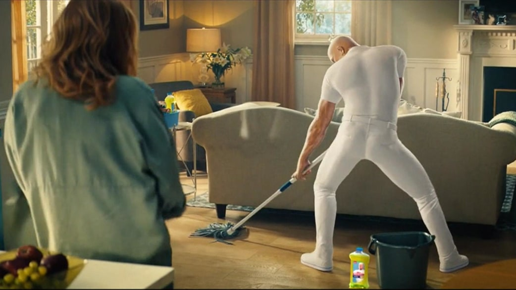 meet the sexy new mr clean first look at hilarious super bowl ad