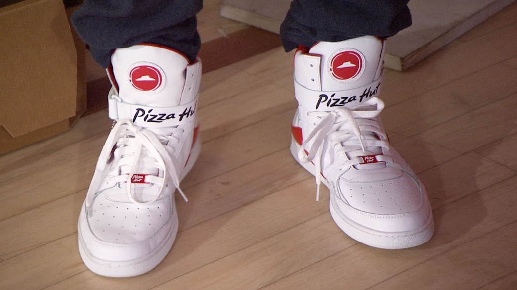Pizza Nike Shoes