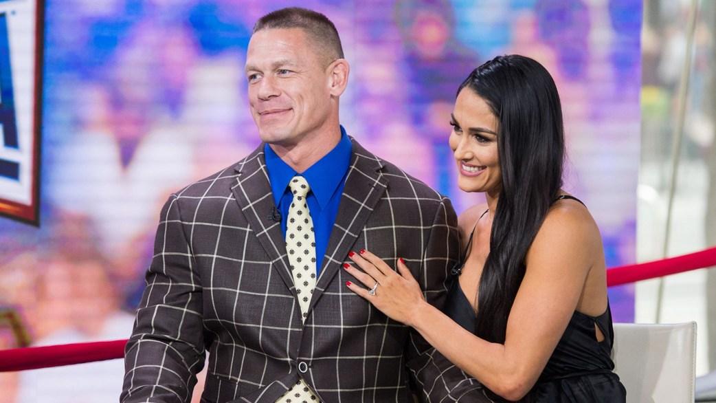 Kết quả hình ảnh cho John Cena and Nikki Bella