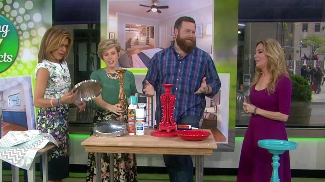 Hgtv home town stars share diy decorating projects for spring hgtv home town stars share diy decorating projects for spring today solutioingenieria Image collections
