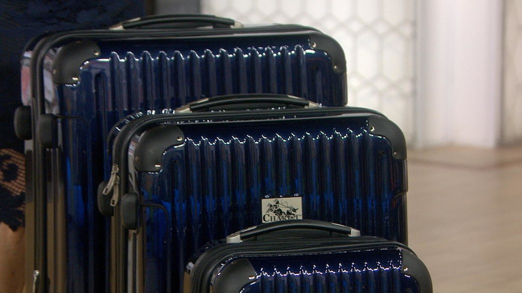Give It Away: 5 lucky viewers win Chariot Travelware luggage sets worth $465 - TODAY.com