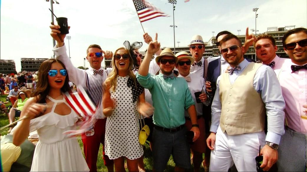 Kentucky Derby Infield