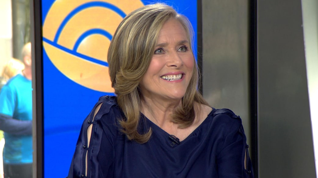 Today Show's host, Meredith Vieira, 63