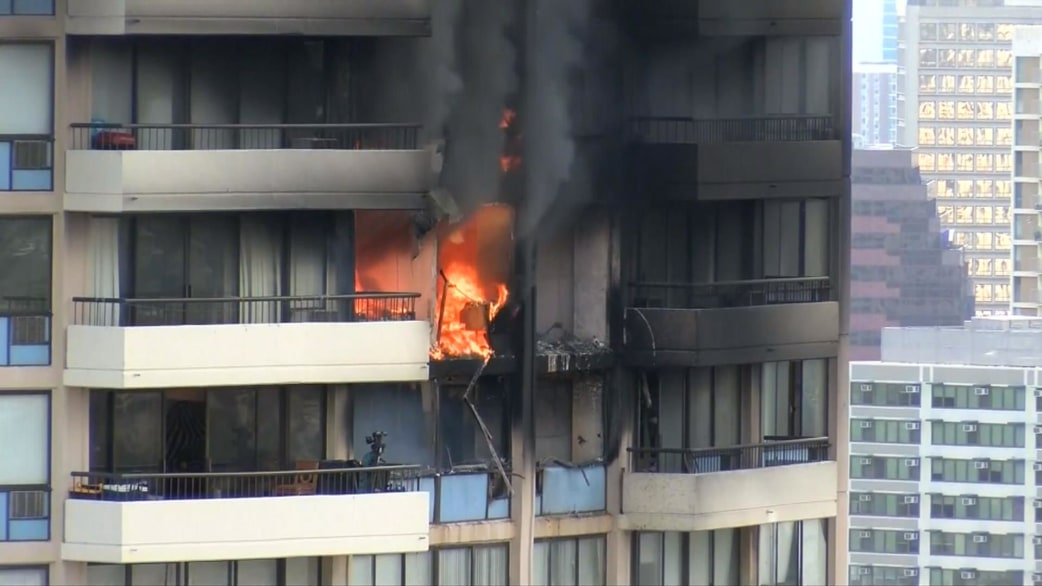High Rise Apartment Inside hawaii high-rise fire: some residents return home as investigation