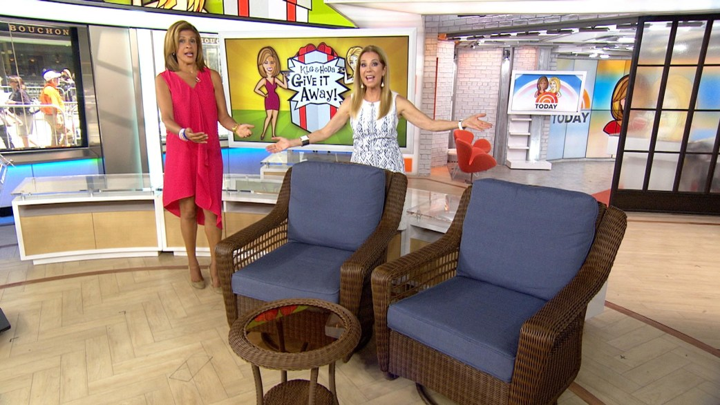 Give It Away: Lucky TODAY viewers win a 3-piece patio set from The Home Depot - TODAY.com
