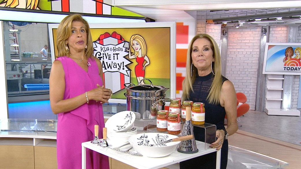Give It Away: Lucky TODAY viewers win pasta sauces, pot, dinnerware - TODAY.com