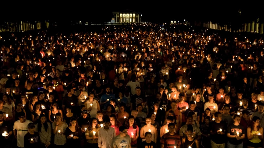 In Charlottesville candlelight vigil against hate draws thousands - TODAY.com & In Charlottesville candlelight vigil against hate draws thousands ... azcodes.com