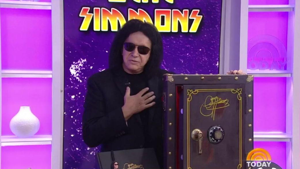 Gene Simmons Of Kiss Talks About New Box Set Of Unreleased Songs