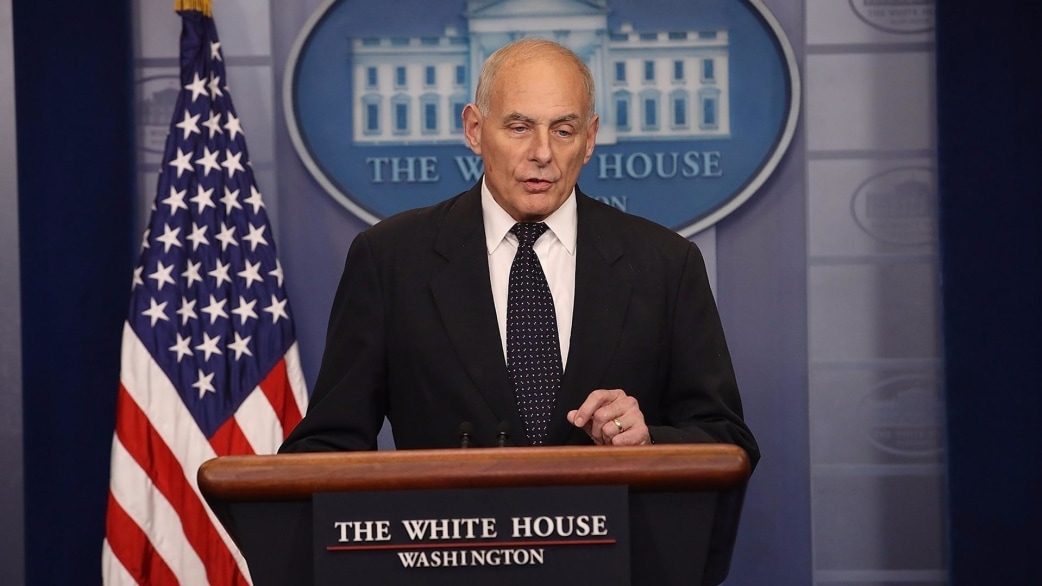 White House Chief Of Staff John Kelly Defends President Trumpu0027s Call To  Soldieru0027s Widow