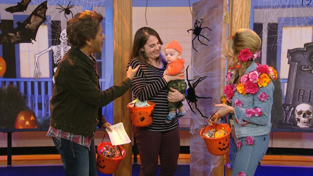 TODAY staffers' adorable kids visit the show for Halloween - TODAY.com