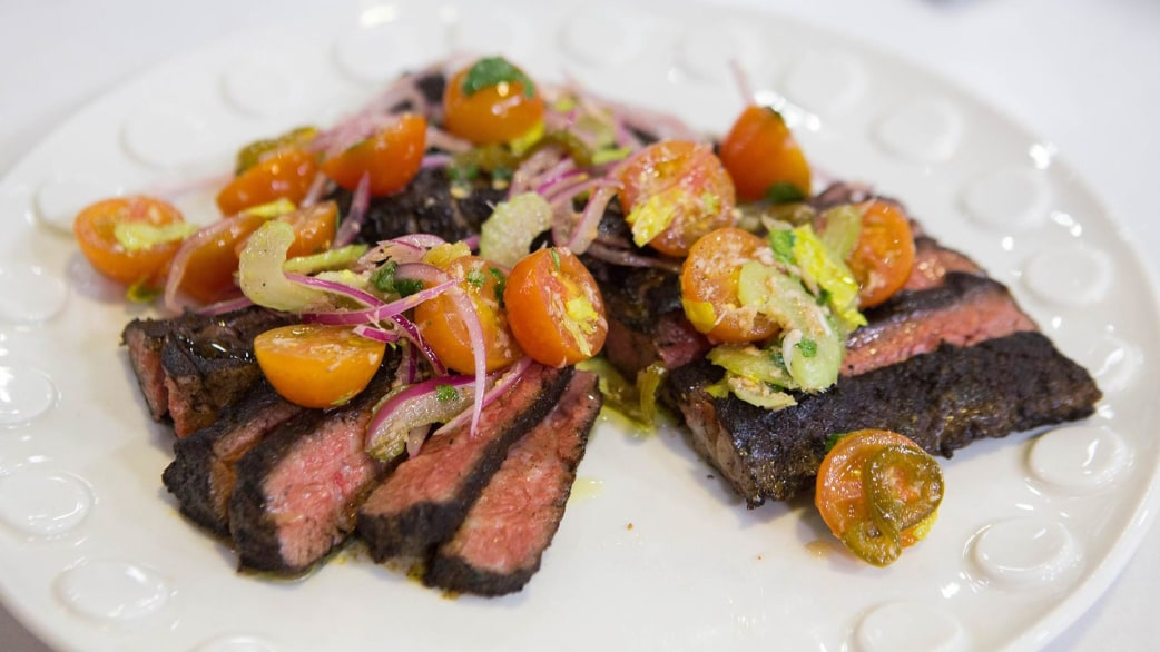 Make Bobby Flay S Delicious But Healthy Skirt Steak And