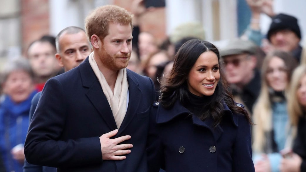 Image result for photos of royal couple harry and markle