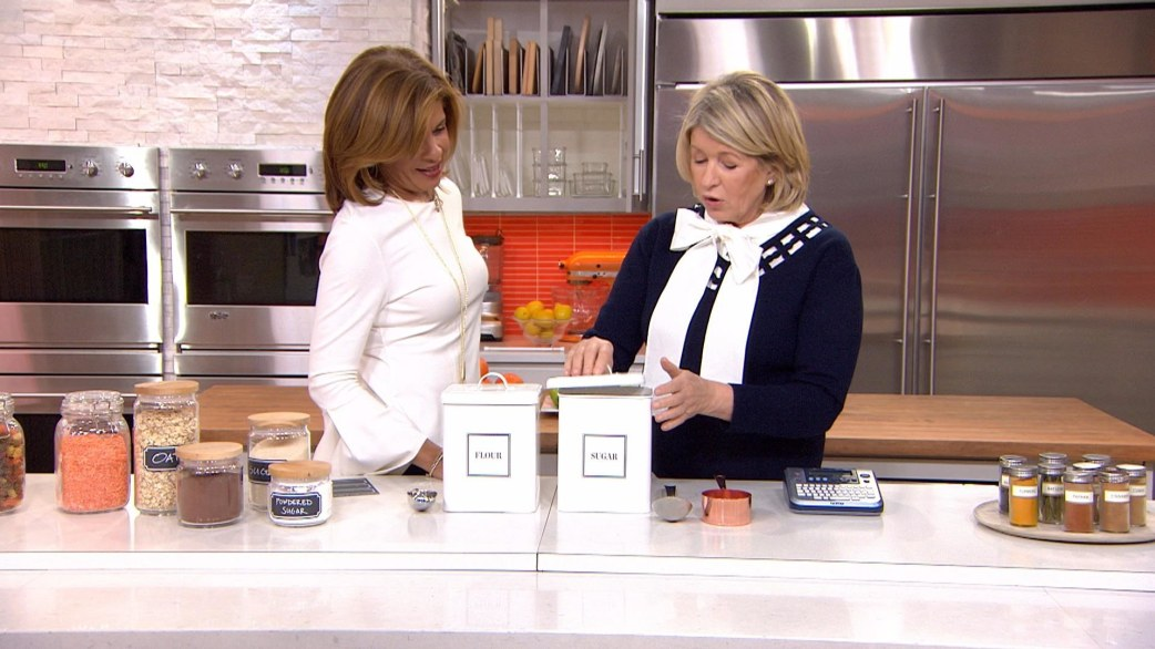 Martha Stewart Shows How To Get Your Kitchen Organized